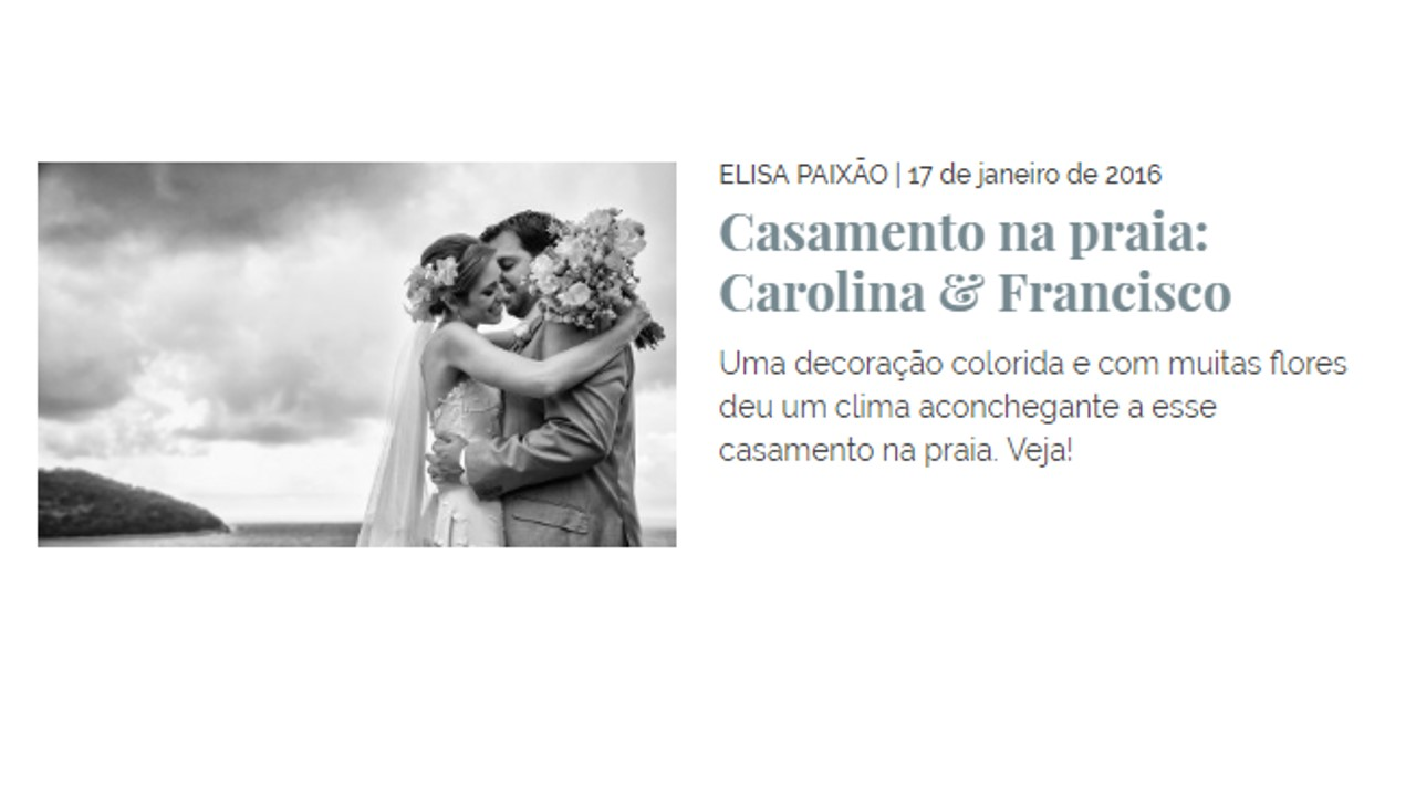 Carolina e Francisco